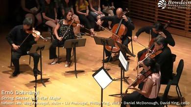 Dohnányi - String Sextet in B-flat Major: I. Allegro ma tranquillo [EXCERPT]