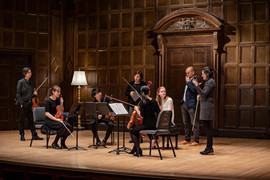 Masterclass at Eastman School of Music, 2019