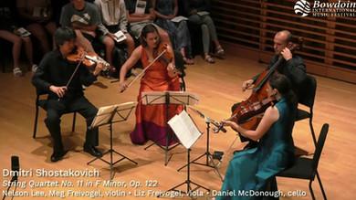 Shostakovich String Quartet No. 11 in F Minor, Op. 122