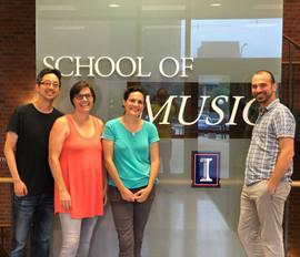 Illinois School of Music, 2018
