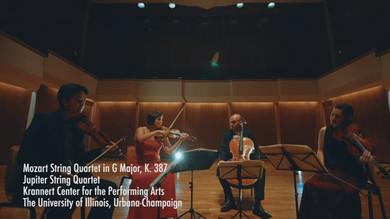 Mozart String Quartet in G, Major K. 387