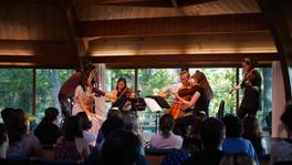 Masterclass at Madeline Island Chamber Music, 2018