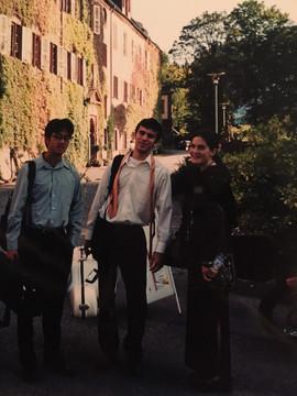 Study with Henry Meyer of LaSalle Quartet, Austria, 2001