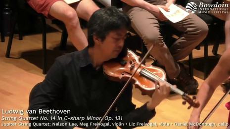 Beethoven String Quartet No. 14 in C# minor, Op. 131
