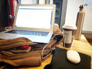 Simple Ergonomics for Coffee Shop & Work From Home Warriors