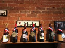Award winning wines.