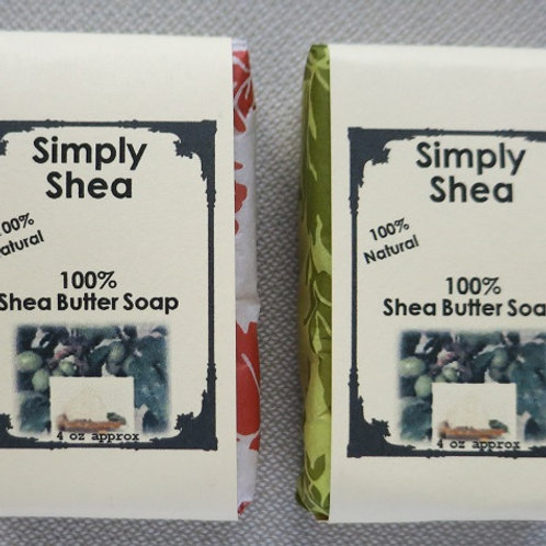 Shea Butter Scent and Color-Free 100% Natural