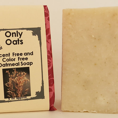 Oatmeal Scent and Color-Free 100% Natural