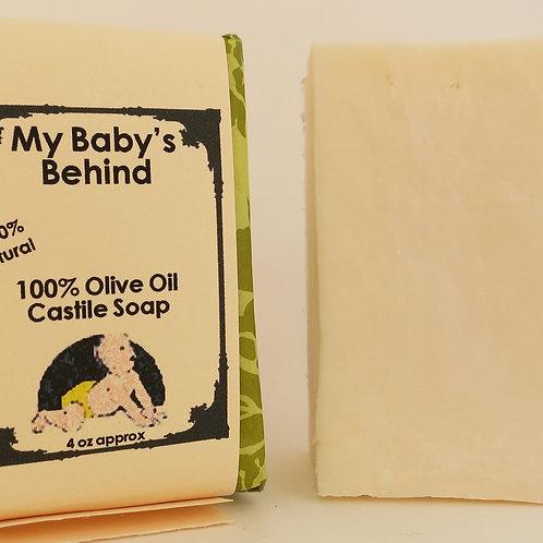 Olive Oil Castile Scent and Color-Free 100% Natural