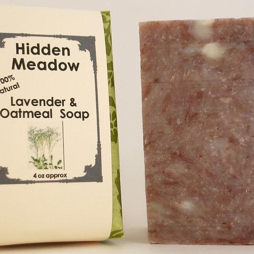 Lavender Oatmeal Facial 100% Natural