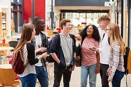 Group of Teenagers Talking.jpg