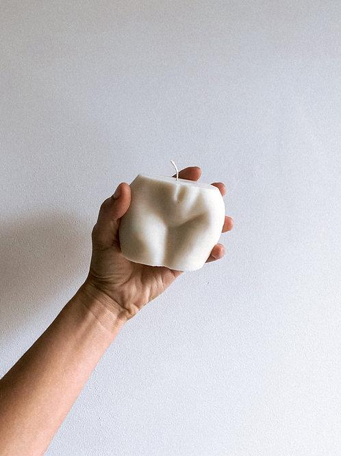Świeca Sojowa Pupeczka biała