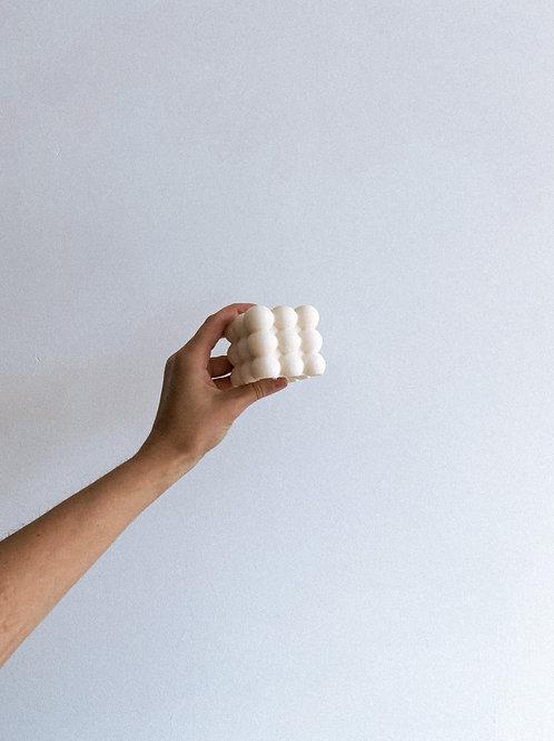 Świeca Sojowa Bubble white