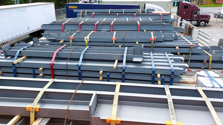 Distribution Center Structural Steel