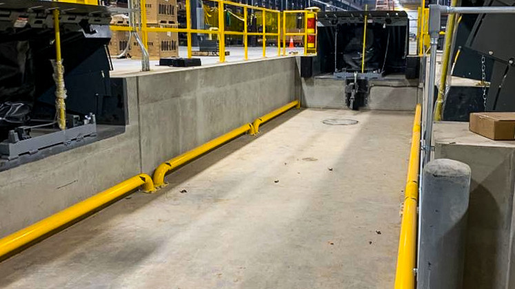 Rail system installed at Cornell Cookson