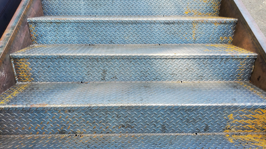 Miscellaneous metals/staircase (Lombardo) in Kingston, PA.