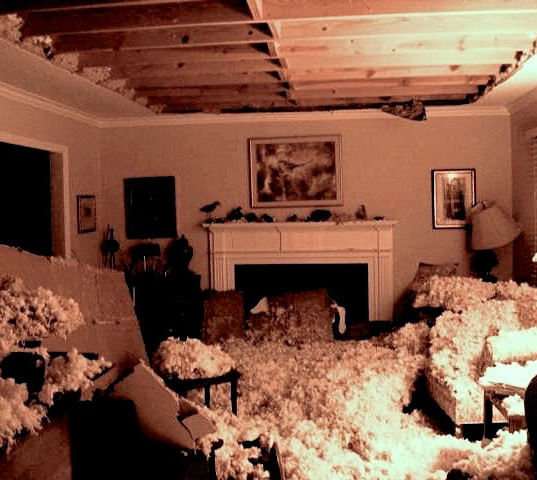 Starmount collapsed ceiling collapse, Gr