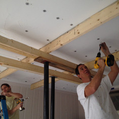Lifting and anchoring ceiling, Burlingto
