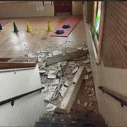 Rhode Island School Ceiling Collapse