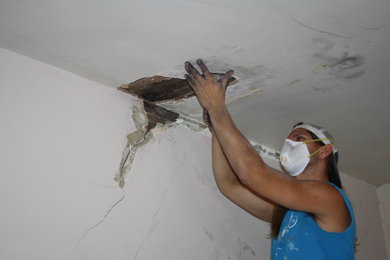 Ceiling plaster repair Winston Salem