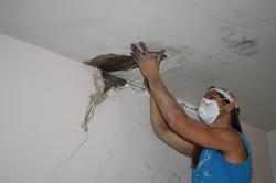 Ceiling plaster repair Winston Salem