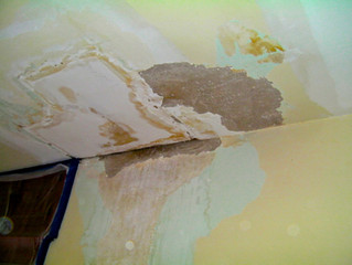 Plaster and Water don't Mix
