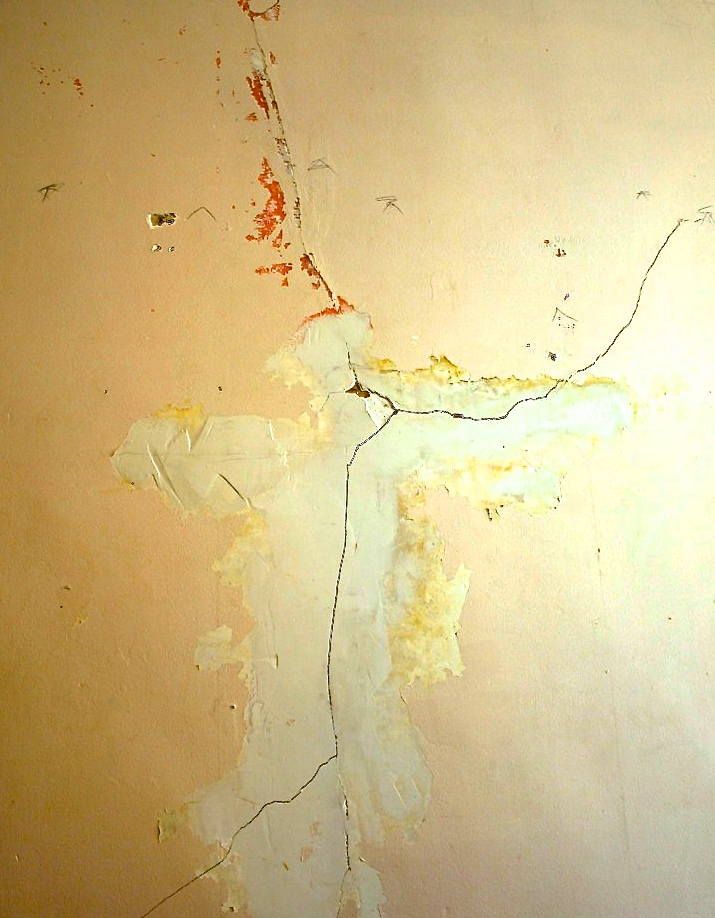 Damaged walls, Winston Salem