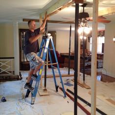 Plaster Ceiling restoration, Burlington,