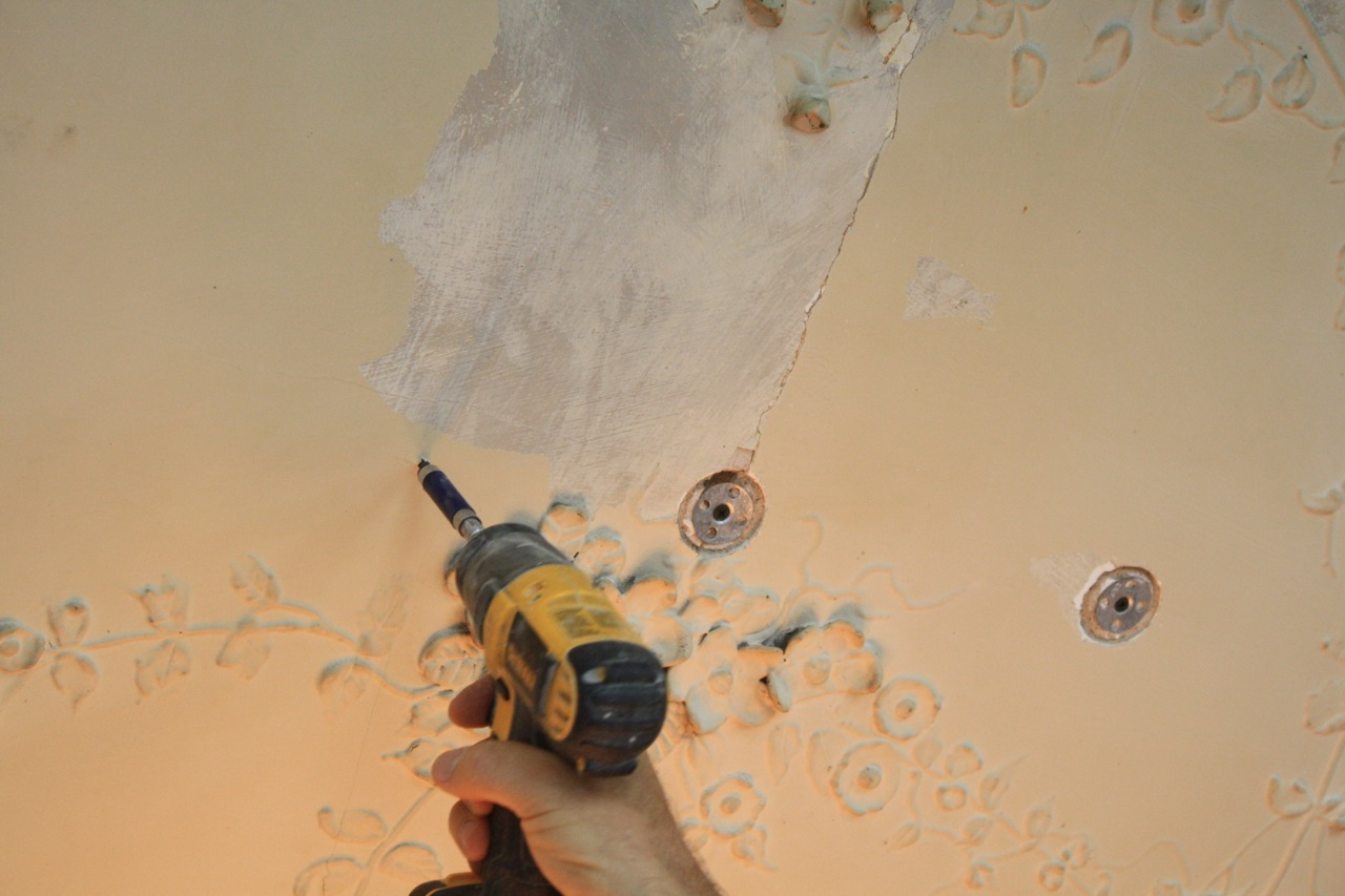 Ornamental plaster repair, Winston Salem NC