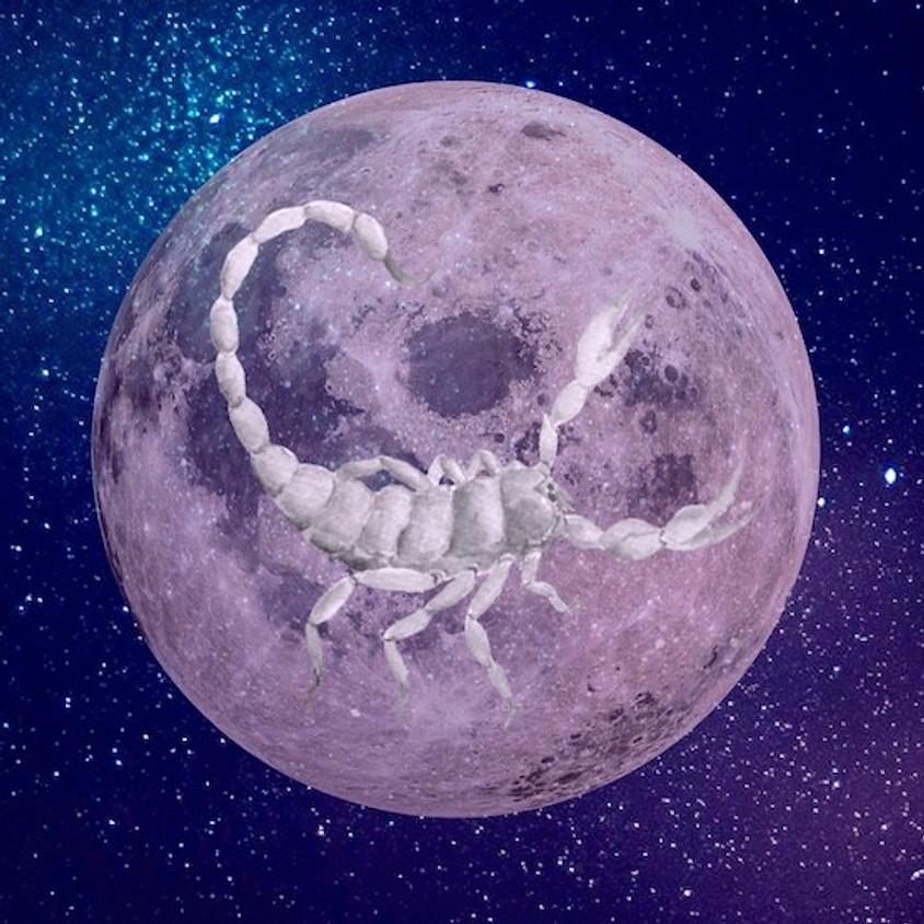 New Moon in Scorpio Ceremony!   $25
