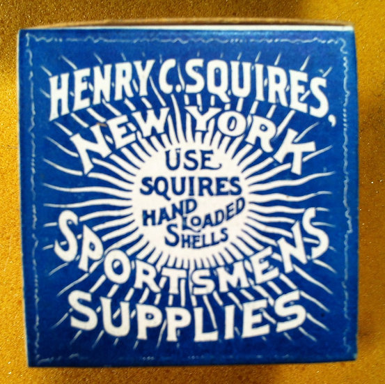 Henry Squires Top Wads Box