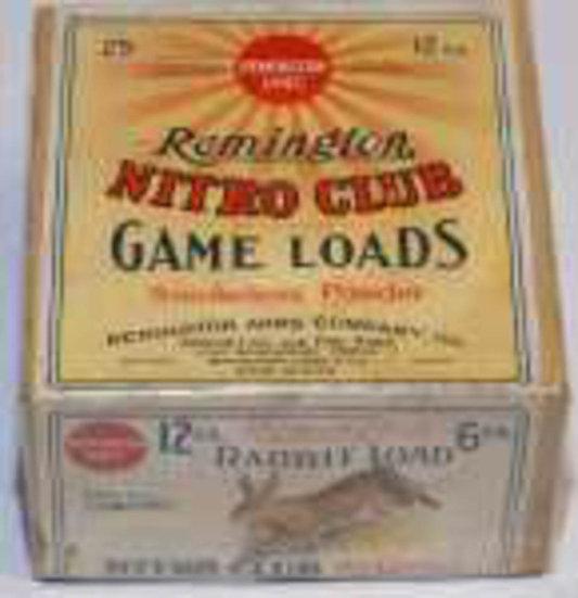 Remington Nitro Club Shot Shell Box