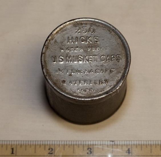 American Flask Company Metal Cap Tin