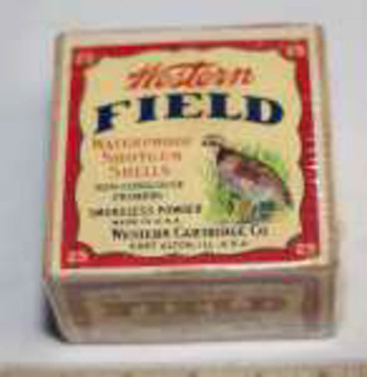 Western Field Loaded Paper Shot Shell Box