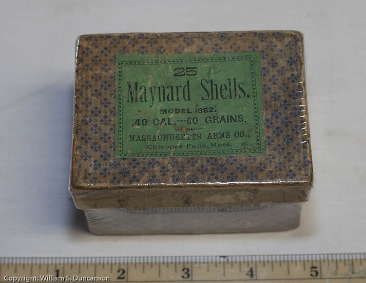 Maynard Cartridge Box