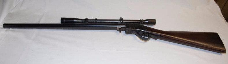 Sharps Borchart Rifle with Scope