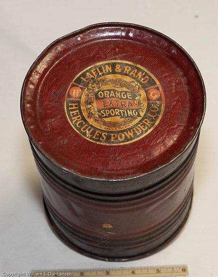 5 Pound Powder Drum by Laflan & Rand Powder Company