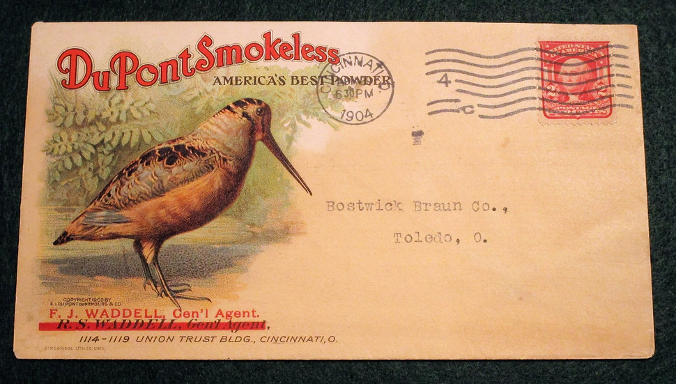 DuPont Smokeless Advertsing Envelope