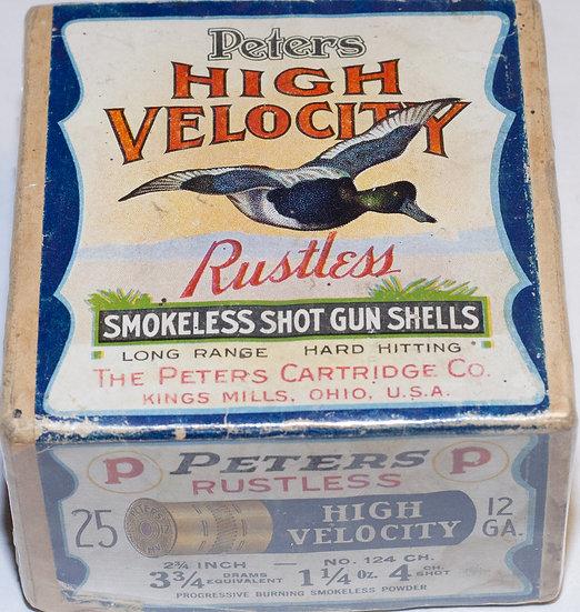 Peters High Velocity Rustless Shot Shell Box