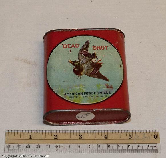 Half Pound Powder Can by American Powder Mills Company