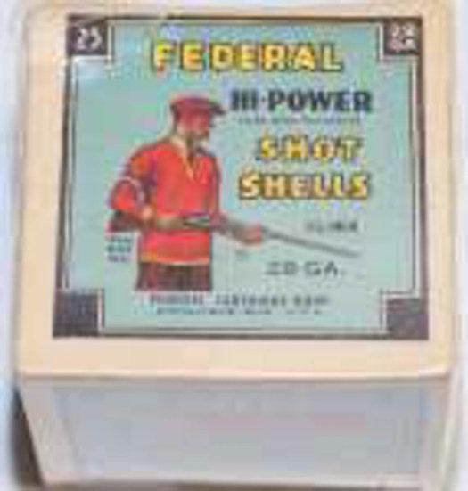 Federal Cartridge Company Shot Shell Box.