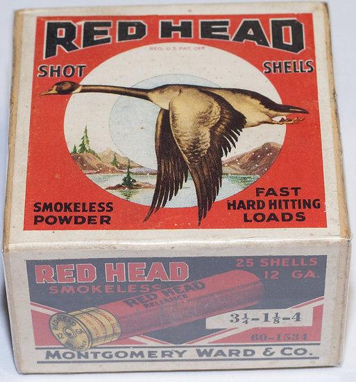 Red Head Shot Shell box.