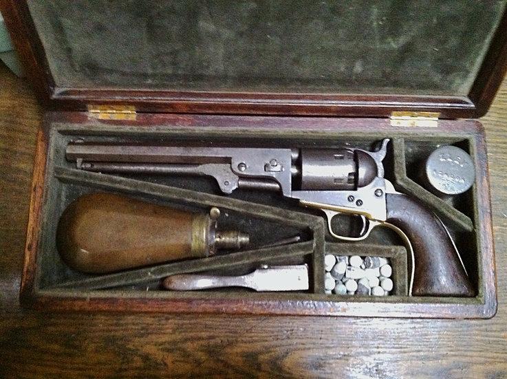 Metropolitan 36 Navy Revolver