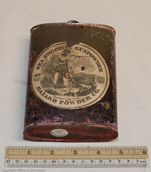 One Pound Powder Can by Hazard Powder Company