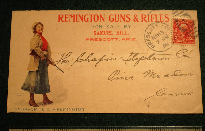 Remington Advertising Envelope