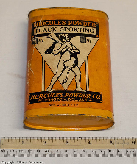 One Pound Hercules Powder Company Can