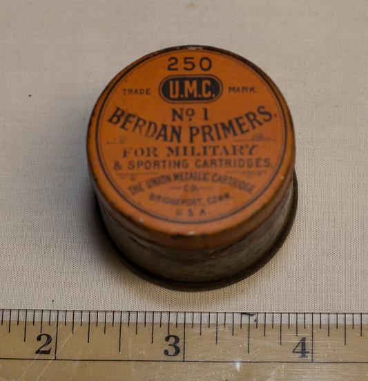 Union Metallic Cartridge Company Cap Tin
