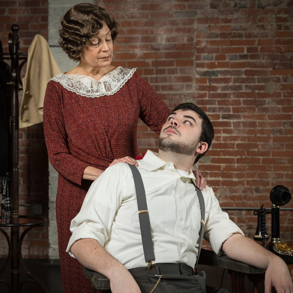 Marianne Green (Amanda) and John D. DiFerdinando (Tom)
