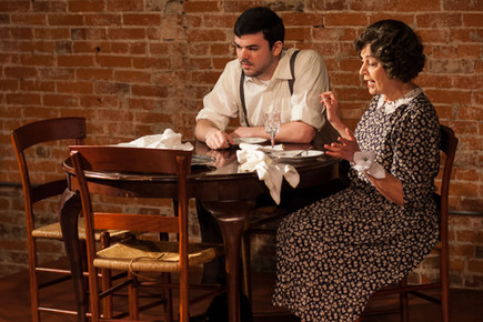 John D. DiFerdinando (Tom) and Marianne Green (Amanda)