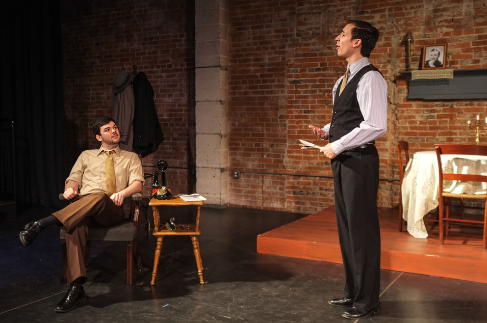 John D. DiFerdinando (Tom) and Matt Zarley (Gentleman Caller)
